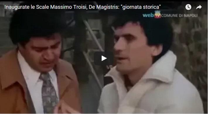 """Inaugurate le Scale """"Massimo Troisi"""""""