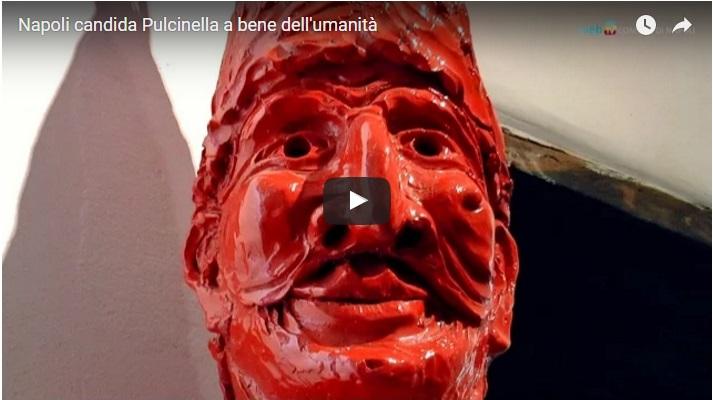 Napoli candida Pulcinella a bene dell'umanità
