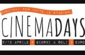 Cinemadays - Emozioni per tutte le stagioni al cinema a soli € 3,00