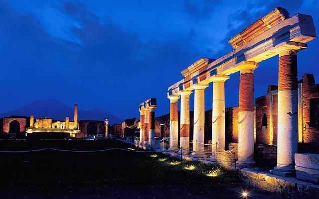 Apertura Notturna degli scavi di Pompei ed Ercolano, fino al 1 ottobre