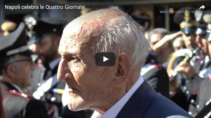 Napoli celebra le Quattro Giornate