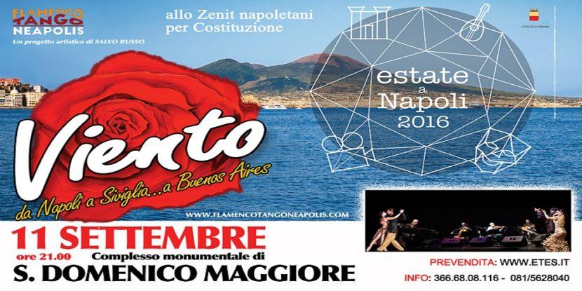 Flamenco Tango Neapolis a San Domenico Maggiore (cortile grande)