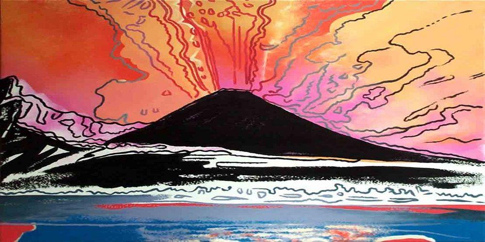 Due eruzioni a Palazzo Zevallos: arriva il Vesuvio di Andy Warhol
