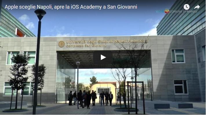Apple sceglie Napoli, apre la iOS Academy a San Giovanni