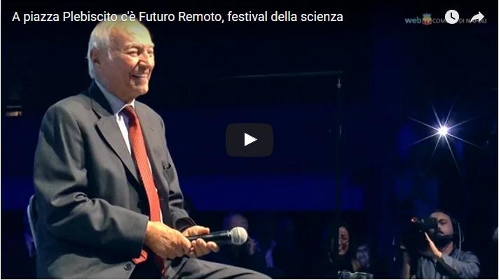 A piazza Plebiscito c'è Futuro Remoto, festival della scienza