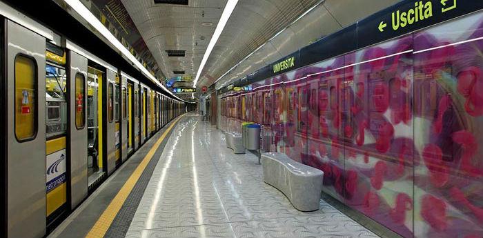 Metro Linea 1: tre giorni di chiusura anticipata