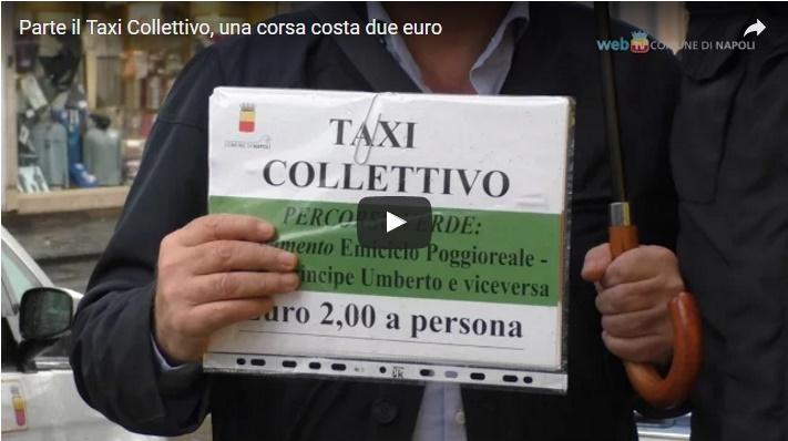 Parte il Taxi Collettivo, una corsa costa due euro
