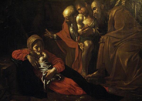 """A Napoli a Natale la """"Natività"""" di Caravaggio"""