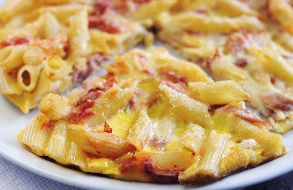 Napoli: arriva il take away della frittata di pasta