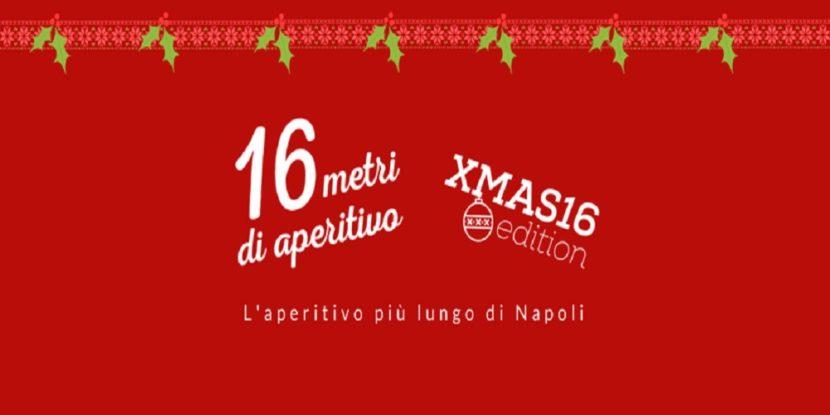 16 metri di aperitivo – XMAS16 edition