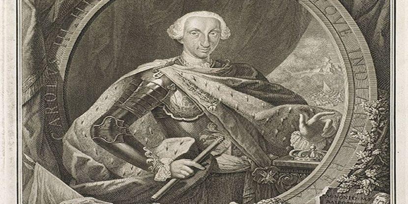 """""""MANN"""" in mostra i rami di Carlo di Borbone"""