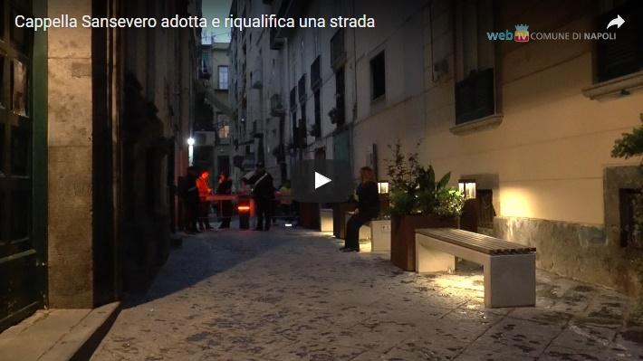 Cappella Sansevero adotta e riqualifica una strada