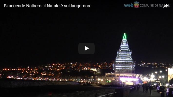 Si accende Nalbero: il Natale è sul lungomare