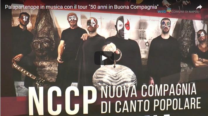 """Palapartenope in musica con il tour """"50 anni in Buona Compagnia"""""""