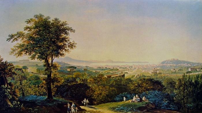Riscopriamo Salvatore Fergola, ultimo pittore della corte dei Borbone