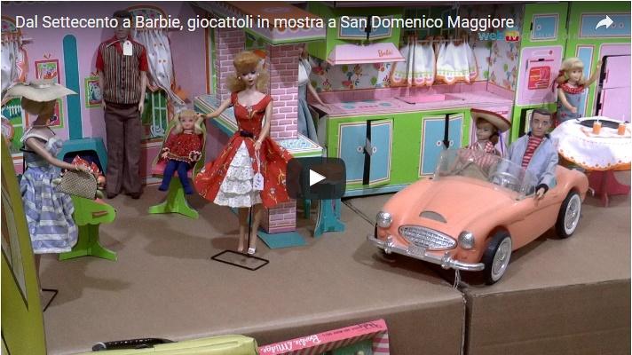 Dal Settecento a Barbie, giocattoli in mostra a San Domenico Maggiore