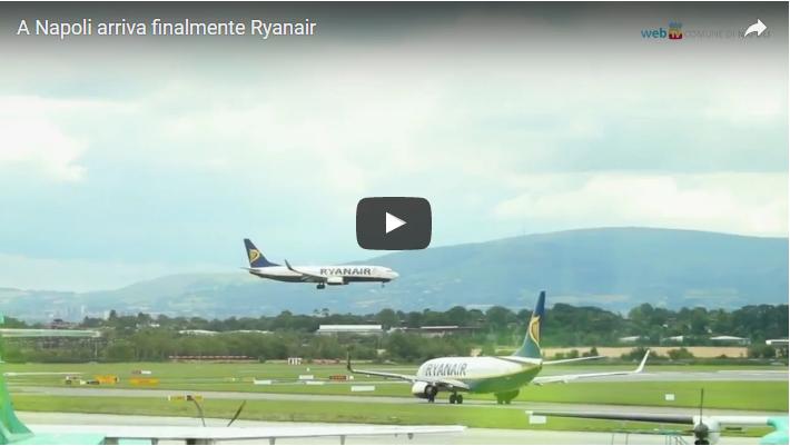 A Napoli arriva finalmente Ryanair