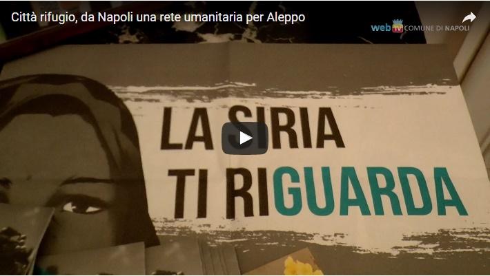 Città rifugio, da Napoli una rete umanitaria per Aleppo