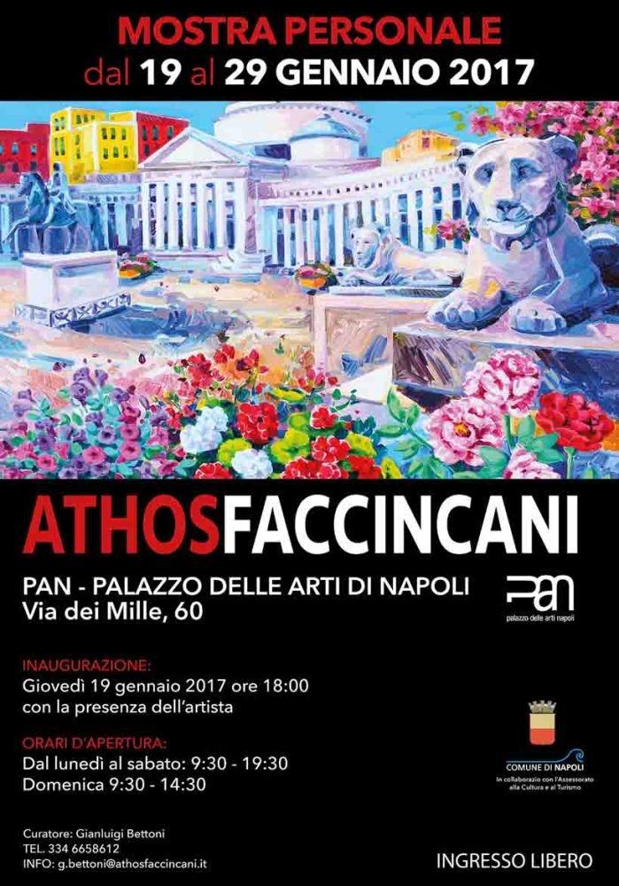 Mostra personale di Athos Faccincani
