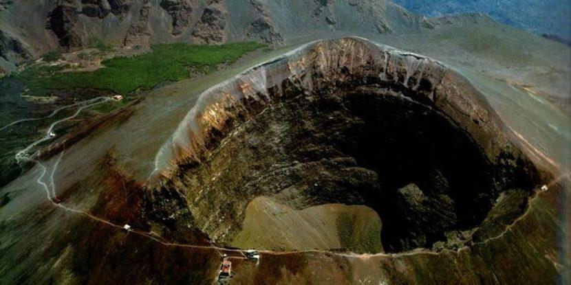 Riapertura Gran Cono del Vesuvio
