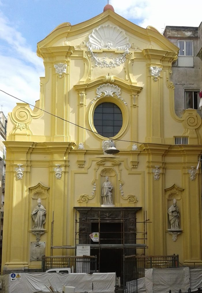 Terminati i lavori: riapre la chiesa di San Carlo alle Mortelle