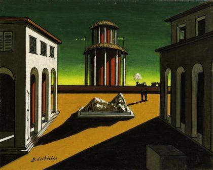 Giorgio De Chirico a Nola: in mostra 40 opere del maestro della metafisica
