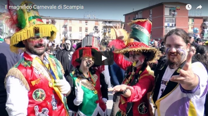 Il magnifico Carnevale di Scampia