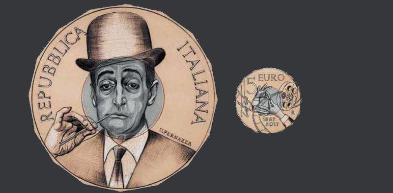 Una moneta per ricordare Totò