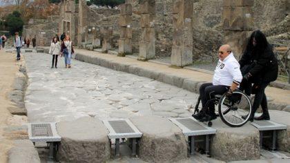 """NAPOLI – L'UNIVERSITA' FEDERICO II PRESENTA IL PROGETTO """"POMPEI ACCESSIBILE"""""""