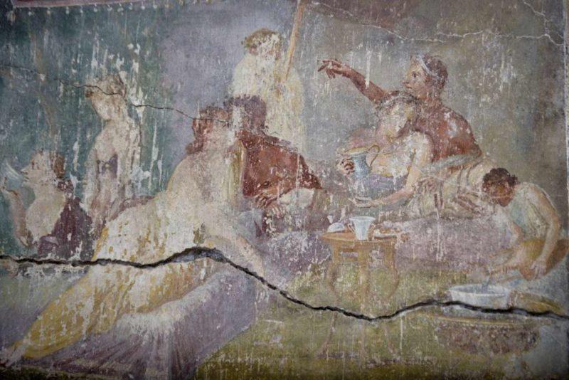 San Valentino a Pompei: apertura straordinaria della Casa dei Casti Amanti