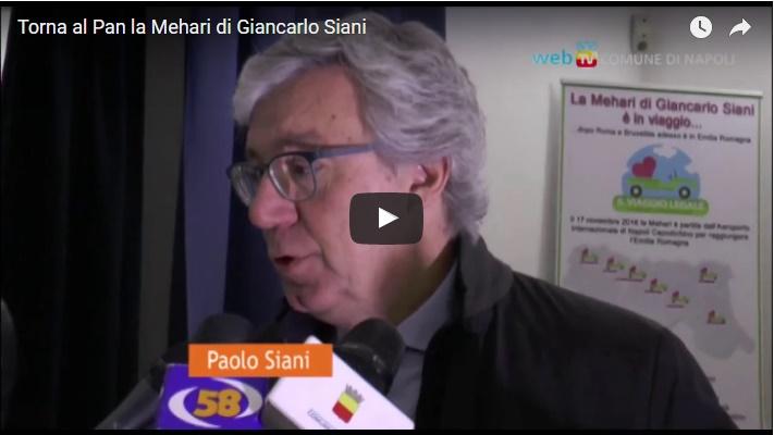 Torna al Pan la Mehari di Giancarlo Siani