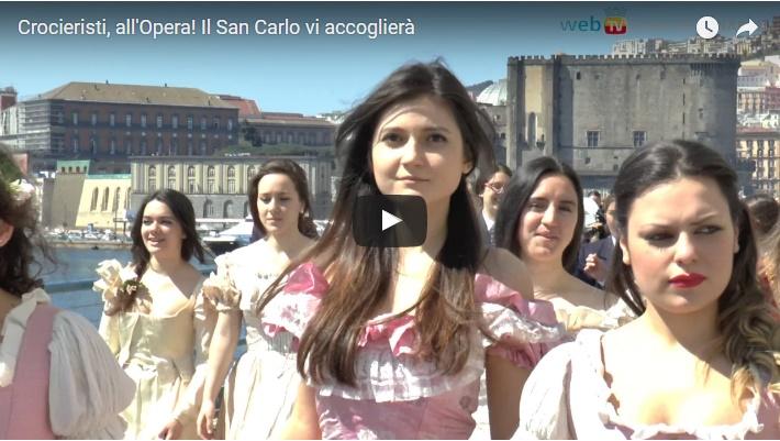 Crocieristi, all'Opera! Il San Carlo vi accoglierà