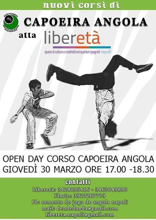 Liberetà – Open Day Capoeira Angola