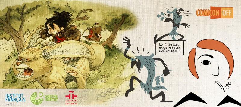 Comic(on) OFF: il fuori salone del fumetto dal Grenoble a Ercolano