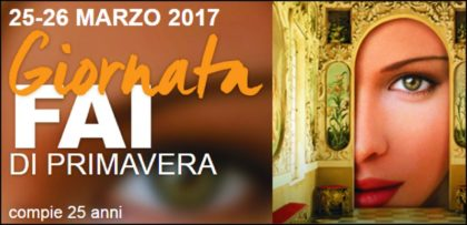 Giornate FAI di Primavera, la Campania festeggia le nozze d'argento