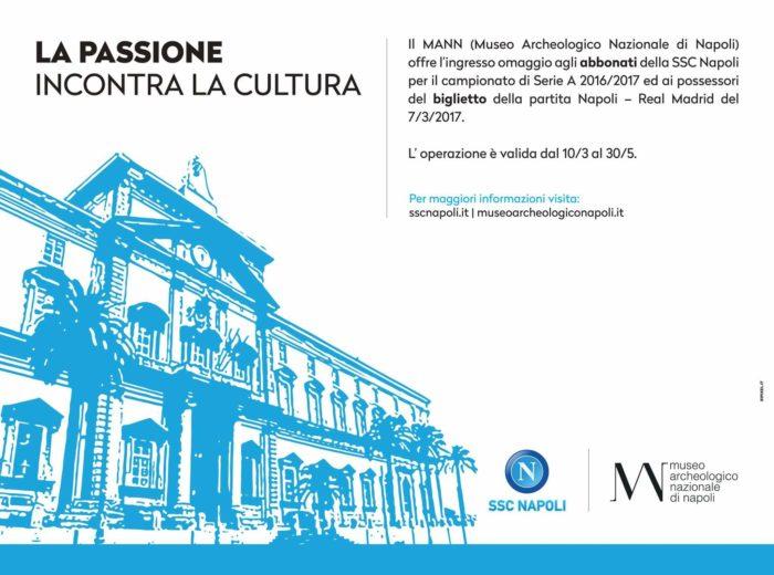 Ingressi gratuiti al Museo Archeologico per i tifosi del Napoli