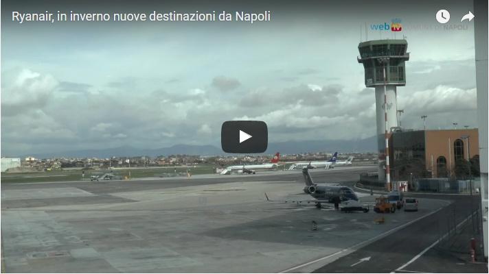 Ryanair, in inverno nuove destinazioni da Napoli