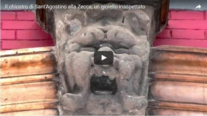 Il chiostro di Sant'Agostino alla Zecca, un gioiello inaspettato