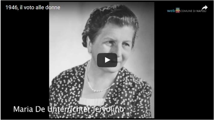 1946, il voto alle donne