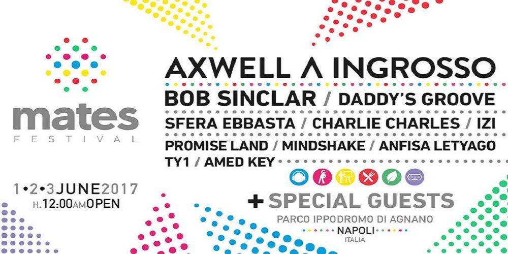 """""""Mates Festival"""", Napoli capitale europea dei giovani"""