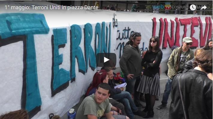 1° maggio: Terroni Uniti in piazza Dante