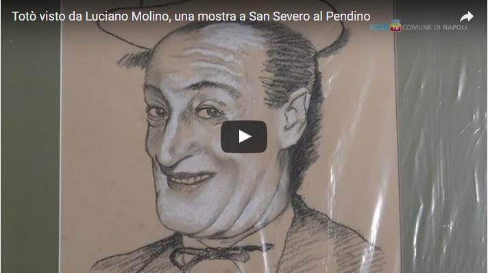 Totò visto da Luciano Molino, una mostra a San Severo al Pendino