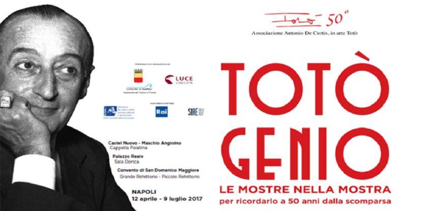 """""""Totò Genio"""", tre grandi mostre a Napoli"""