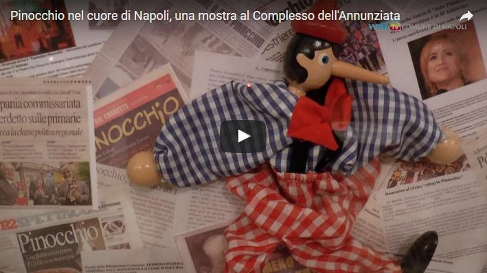 Pinocchio nel cuore di Napoli, una mostra al Complesso dell'Annunziata