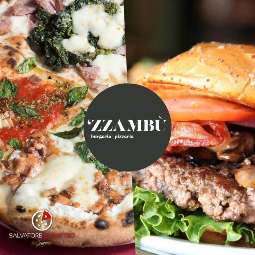 """""""Zzambù"""" : una nuova realtà con la pizza di Di Matteo e gli hamburger del Penny Black apre sul lungomare di Napoli"""