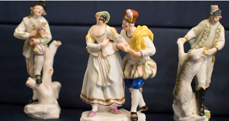 Visita guidata per scoprire le Porcellane di Carlo di Borbone