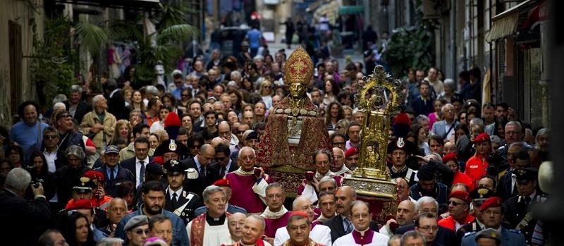 Processione del Santo Patrono e Martire Gennaro