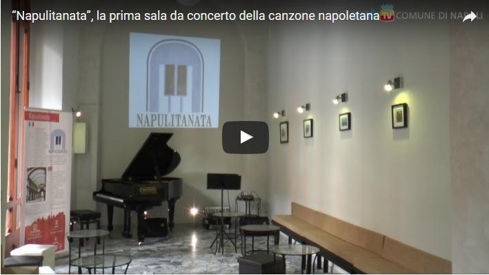 """""""Napulitanata"""", la prima sala da concerto della canzone napoletana"""