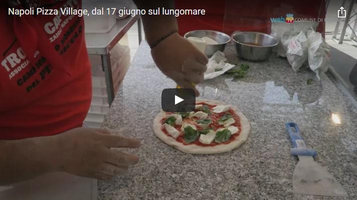 Napoli Pizza Village, dal 17 giugno sul lungomare