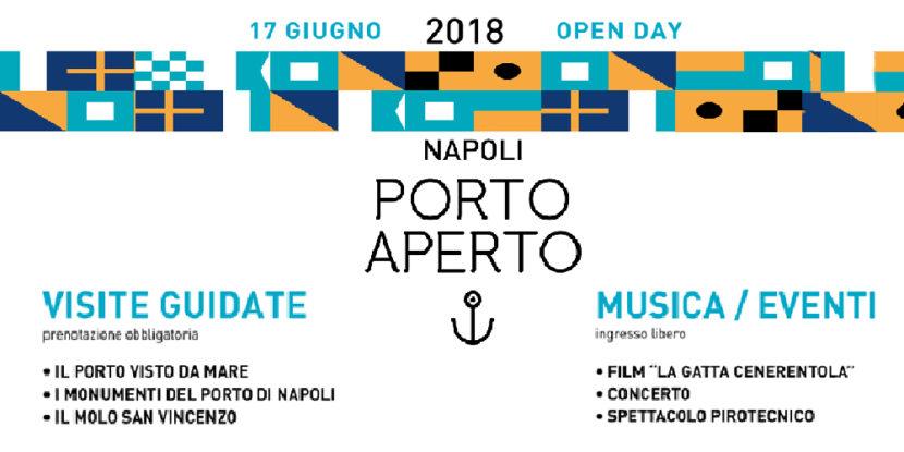 """Napoli – """"Porto Aperto"""", il 17 giugno: visite gratuite via mare e concerto finale"""